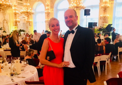 Czech Top 100 Gala Dinner in Spanish hall