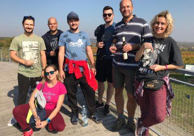 Teambuilding in the vineyard